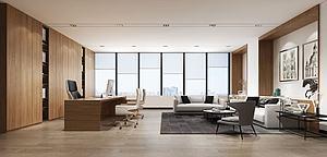 經理室模型3d模型