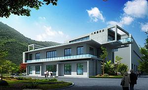办公楼模型3d模型