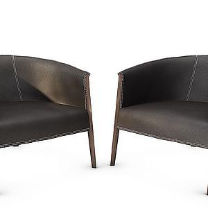 北歐椅子3d模型