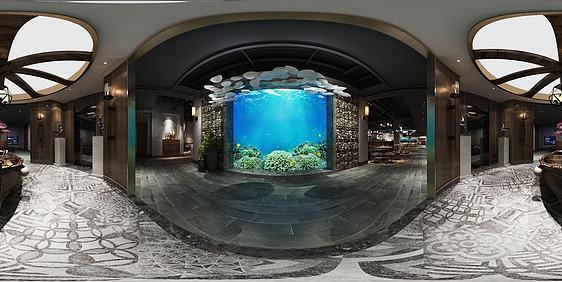 3d火鍋料理店全景模型