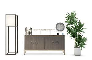 新中式裝飾柜模型3d模型