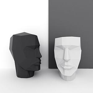 人物雕塑模型3d模型