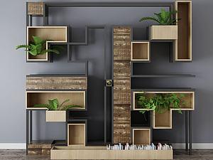 裝飾柜模型3d模型
