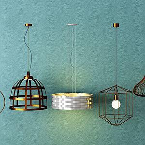 裝飾燈3d模型