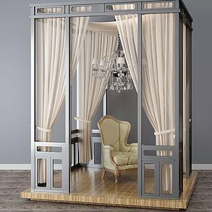 休閑沙發3d模型