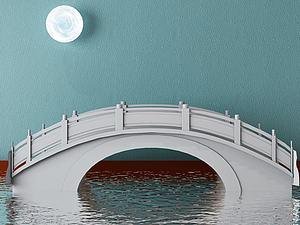 拱橋模型3d模型