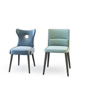 休閑椅3d模型