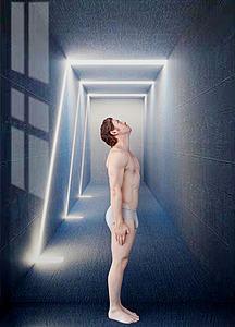 現代男人模特模型3d模型