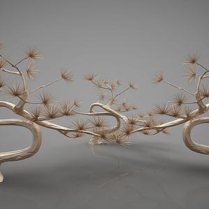 裝飾植物3d模型