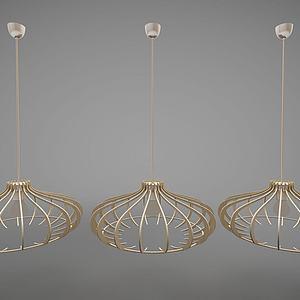 吊燈3d模型