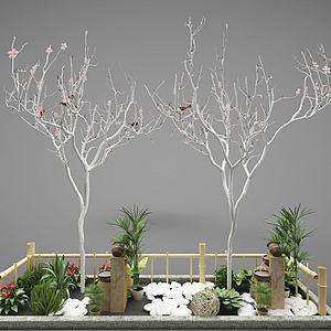 園林小品3d模型