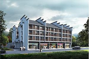 老年公寓模型3d模型