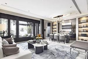 中式別墅客廳模型3d模型