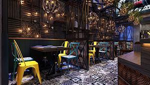 西餐廳模型3d模型