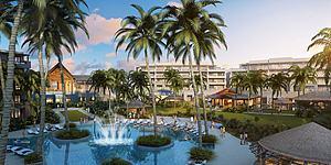 度假別墅酒店模型3d模型
