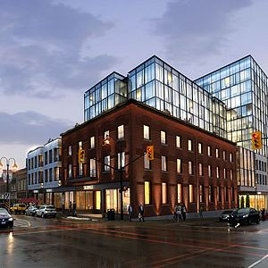 商業街3d模型
