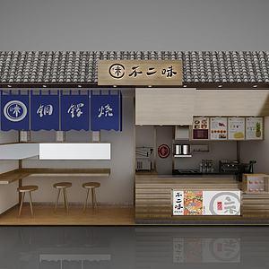 寿司店3d模型