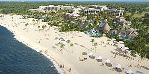 戶外度假別墅酒店模型3d模型