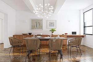 現代餐廳餐桌模型3d模型