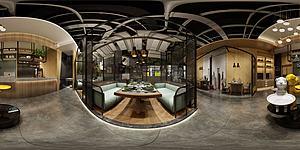 餐厅全景模型3d模型