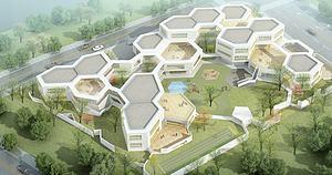 戶外建筑模型3d模型