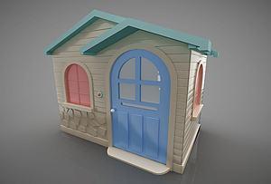 游樂設施模型3d模型