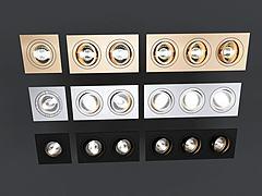 筒燈3D模型