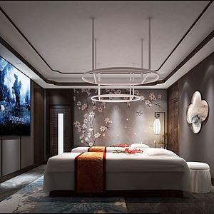 美容床房3d模型
