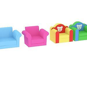 軟體座椅3d模型