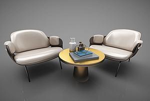 休閑沙發模型3d模型