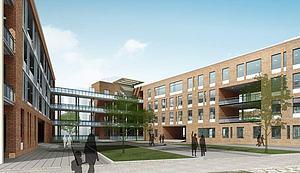 教学楼模型3d模型