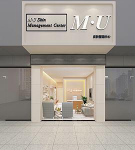 珠寶店門頭模型3d模型