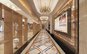瓷磚展廳模型3d模型