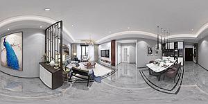 現代家裝改后模型3d模型
