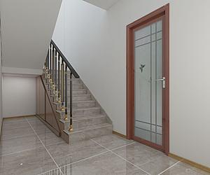 樓梯間模型3d模型