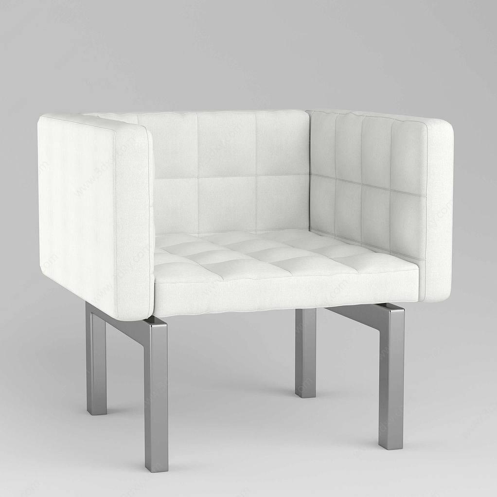 現代休閑簡約單人沙發