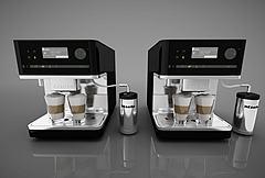 3D模型咖啡機
