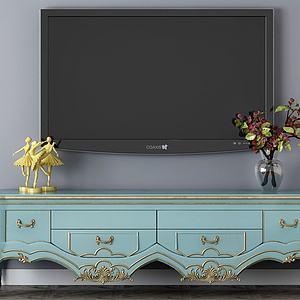 电视机柜子3d模型