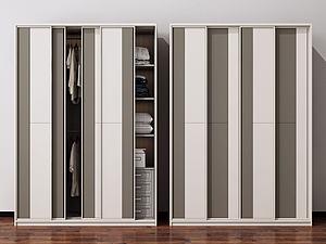 衣柜裝飾柜模型3d模型