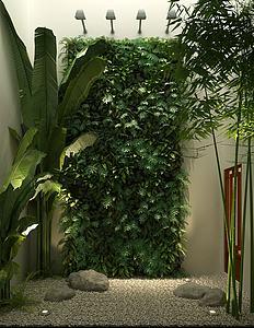 庭院植物模型3d模型