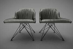 休閑椅模型3d模型