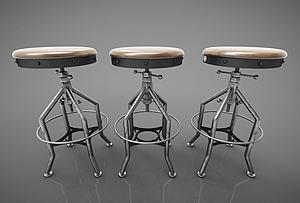 现代风格椅子模型3d模型