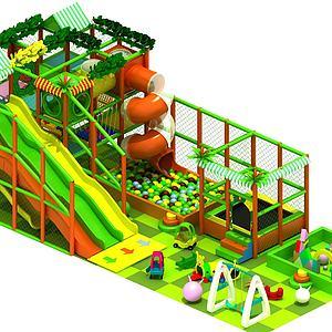 游樂設施3d模型
