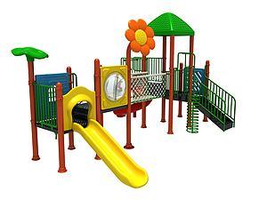 滑滑梯兒童游樂設施模型3d模型