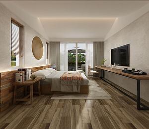 客房空间模型3d模型