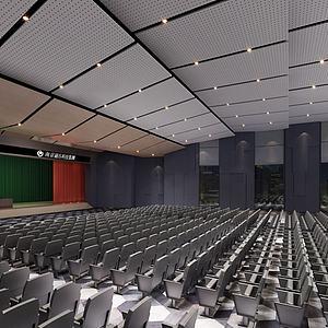 大型會議廳3d模型