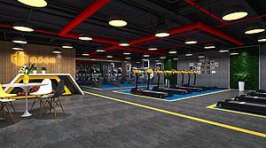 健身房模型3d模型