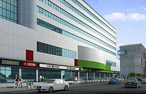 商業建筑模型3d模型