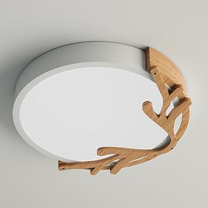 北欧吸顶灯3d模型