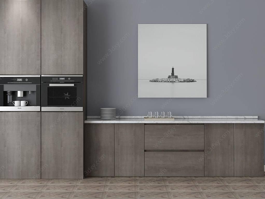 家具饰品组合厨柜